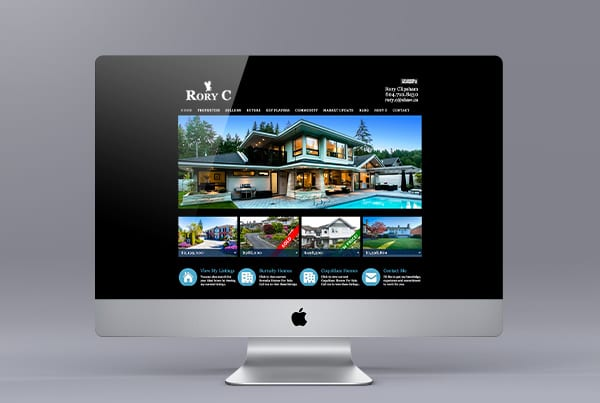 Website Design for Rory Clipsham
