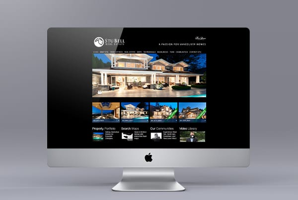 Website Design for Stu Bell