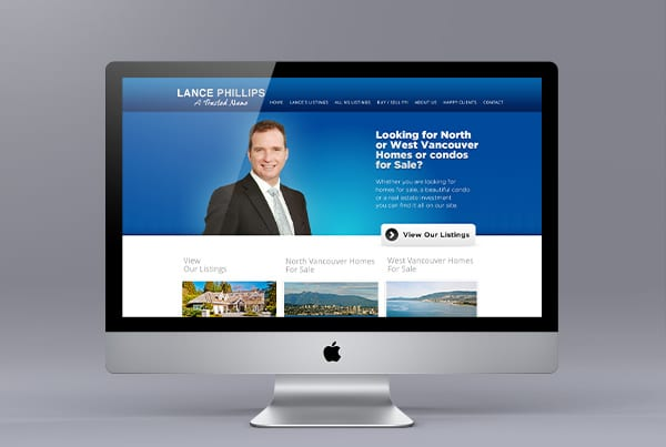 Website Design for Lance Phillips