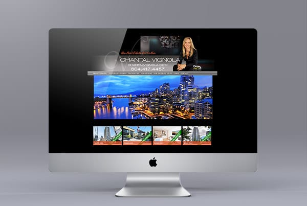 Website for Realtor Chantal Vignola