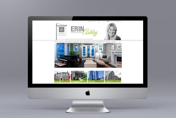 Erin Ashby Website Design