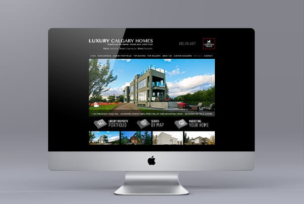 Luxurycalgaryhomes.ca Website