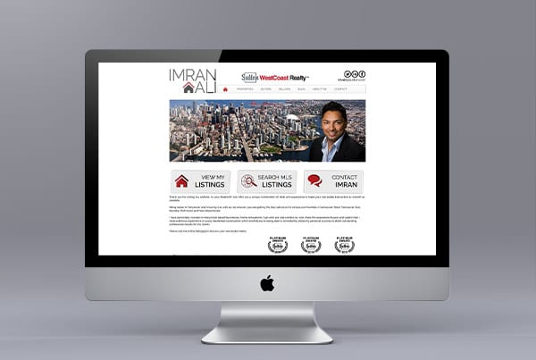 Website Design for Imran Ali