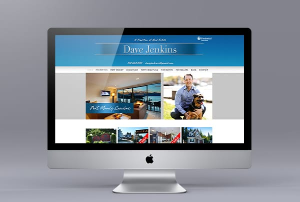 Website Customization for Dave Jenkins