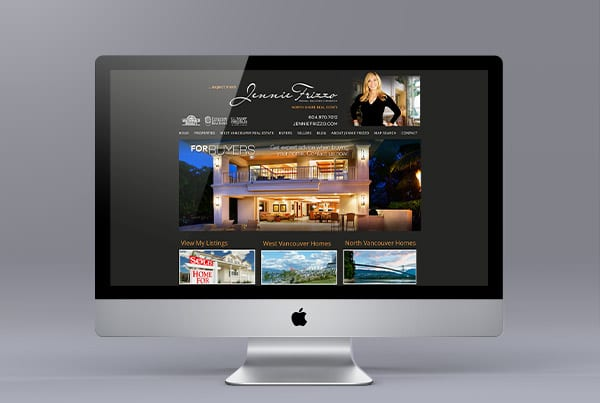 Jennie Frizzo Website Design