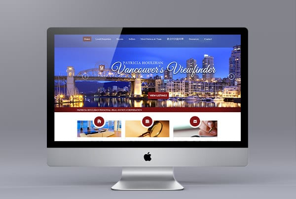 Patricia Houlihan Website Design