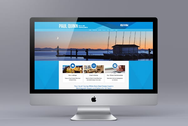 Paul Quinn New Website