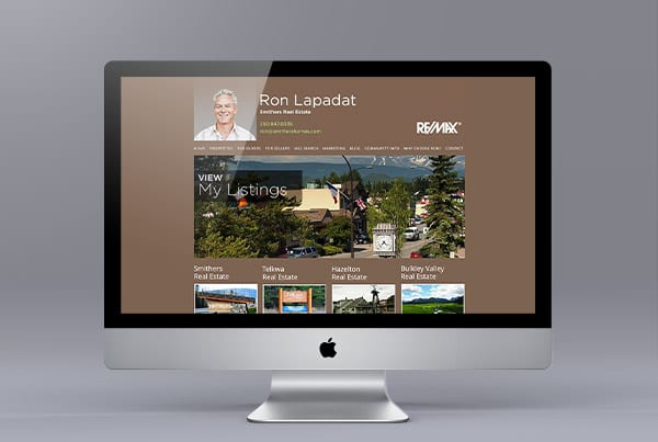 Smithers Homes Website Design