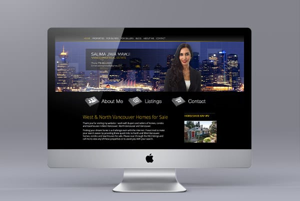Website Design for Salima Jiwa Mawji