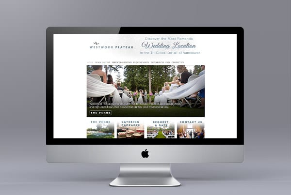 Westwood Plateau Website Design