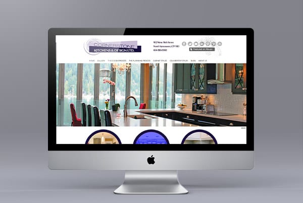 Cornerstone Kitchens Website