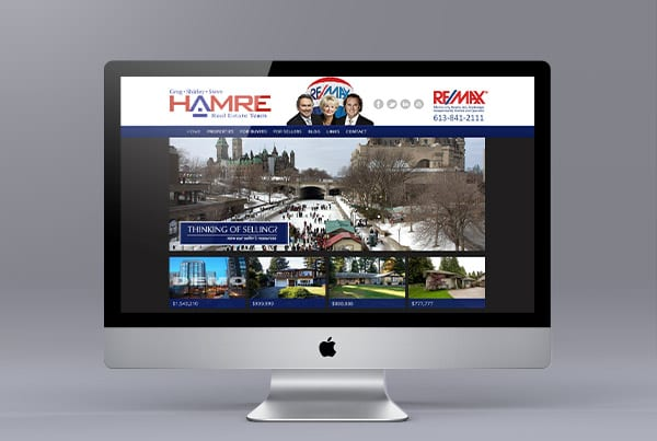 Ottawa Realtors Website Design