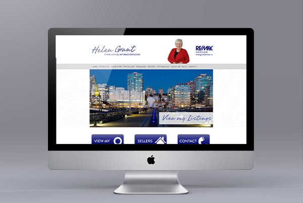 Helen Grant Ubertor Website Design