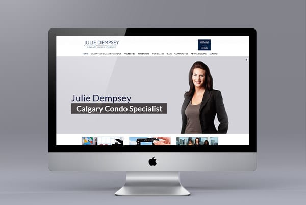 Julie Dempsey's Website Makeover