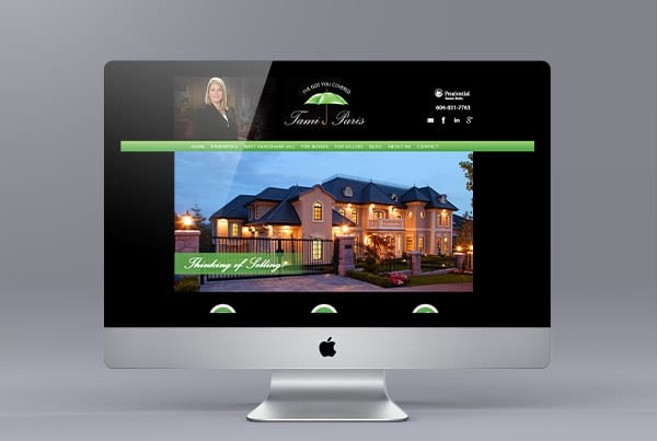 Tami Paris Real Estate Website Design