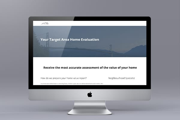 A Free Home Evaluation – Realtor Lead Generation