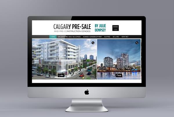 Calgary Pre-sale Condos Website