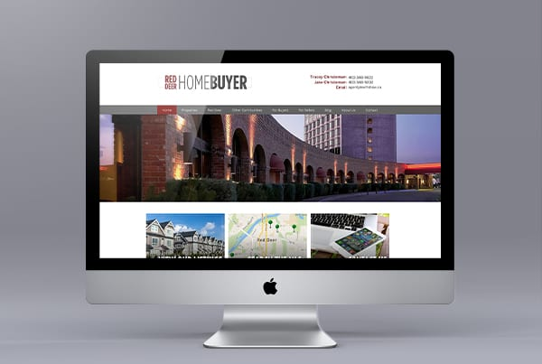 Red Deer Home Buyer Website