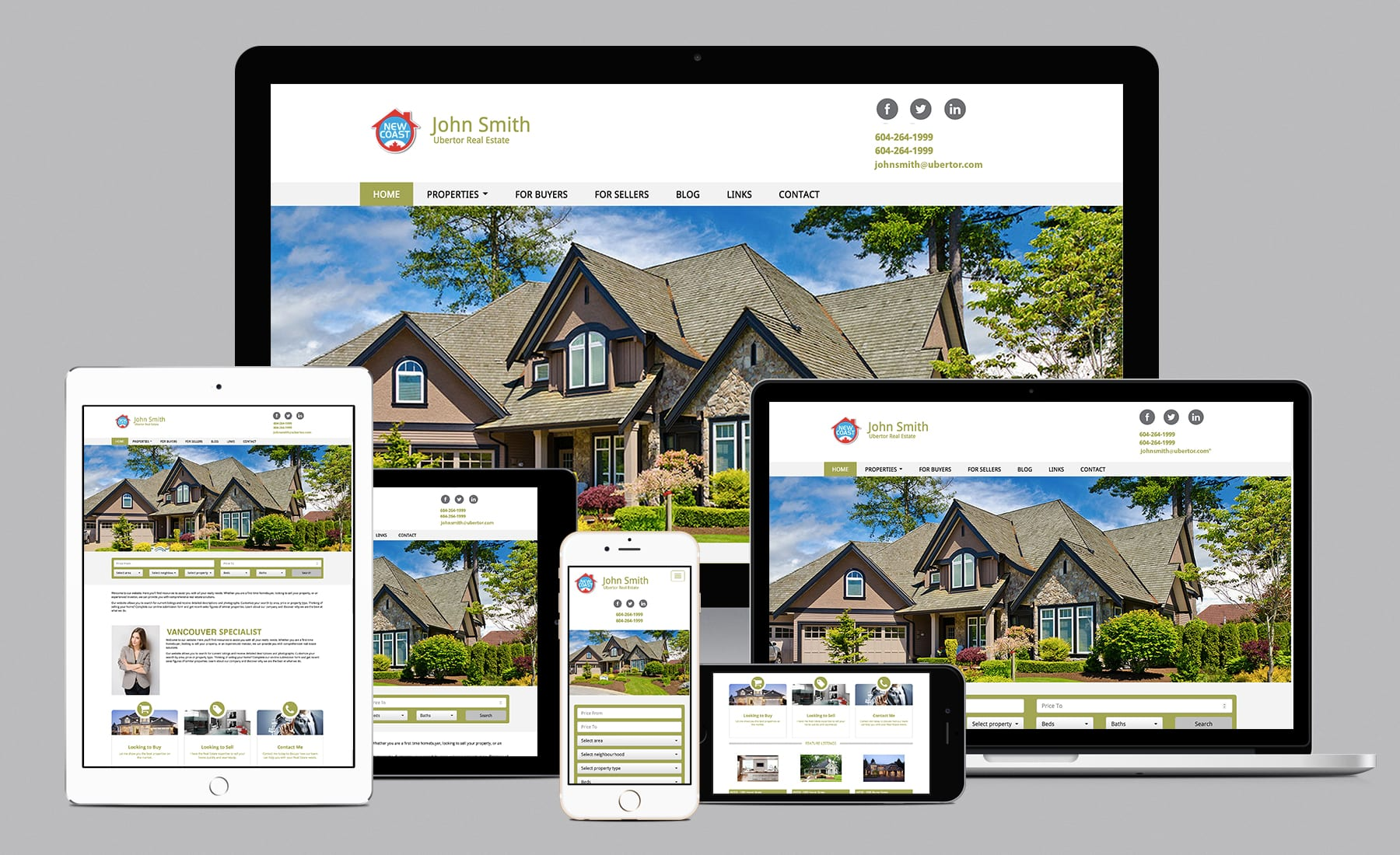 Ubertor Responsive Real Estate Websites Limelight Marketing