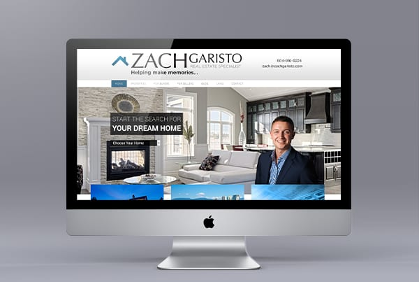 Langley Realtor Website: Zach Garisto