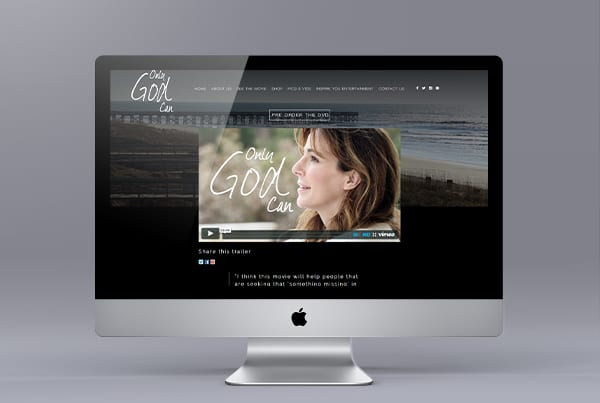 Only God Can Movie Website