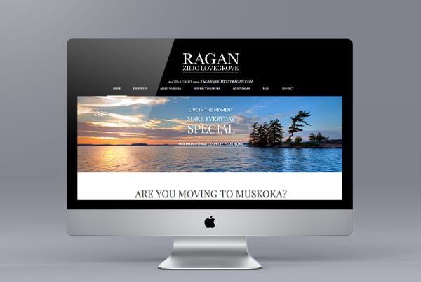 Ragan Zilic Lovegrove Real Estate Website