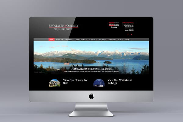 Real Estate Website for Denise Brynelsen and Joel O'reilly