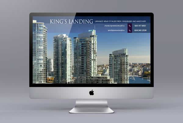 Kings Landing Condo Website