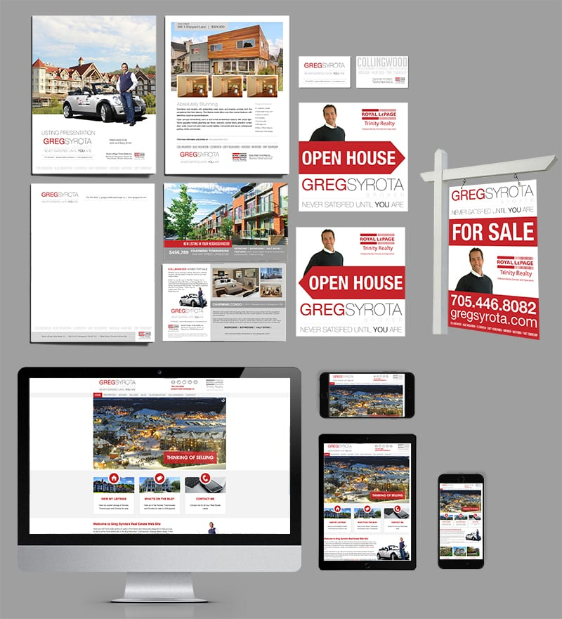 Realtor Branding And Marketing Material Package