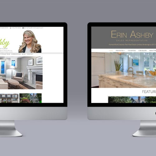 Erin Ashby Website Makeover