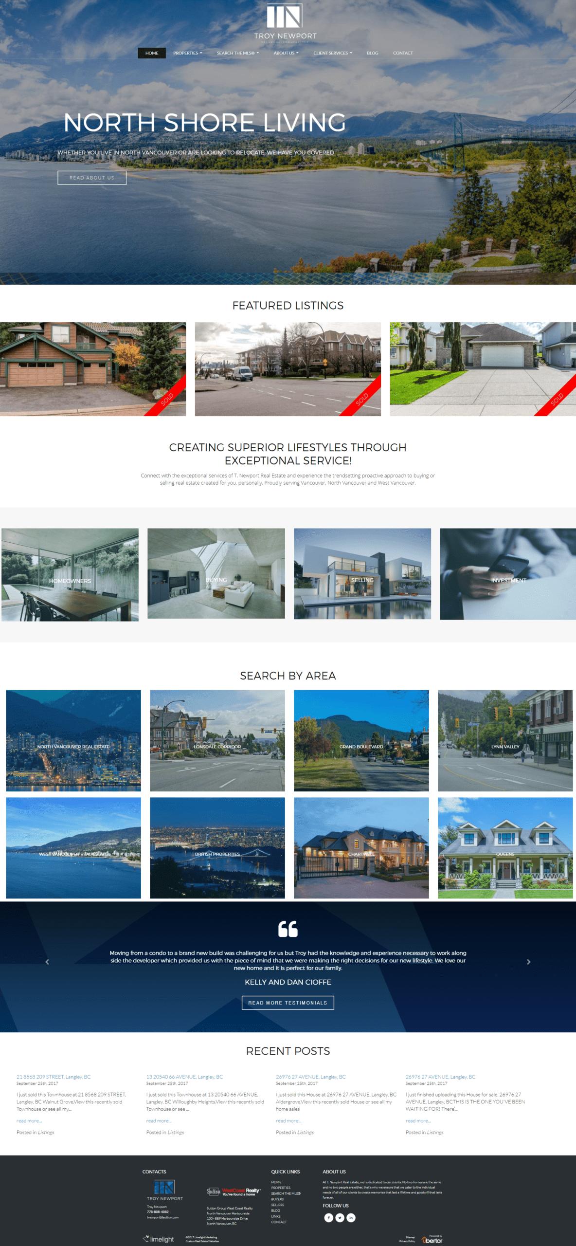 Ubertor Responsive Website Design