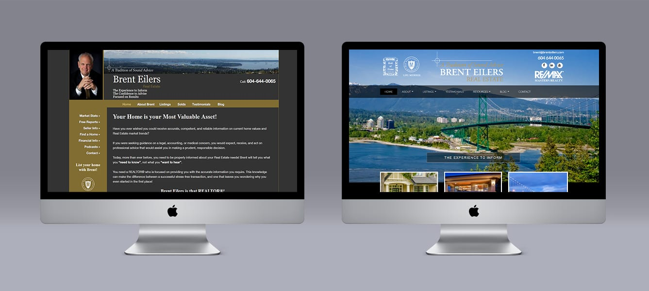 Brent-Eilers Limelight Marketing website design using Ubertor CMS