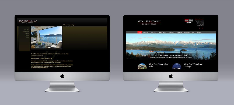 Brynelsen-Oreilly Limelight Marketing website design using Ubertor CMS