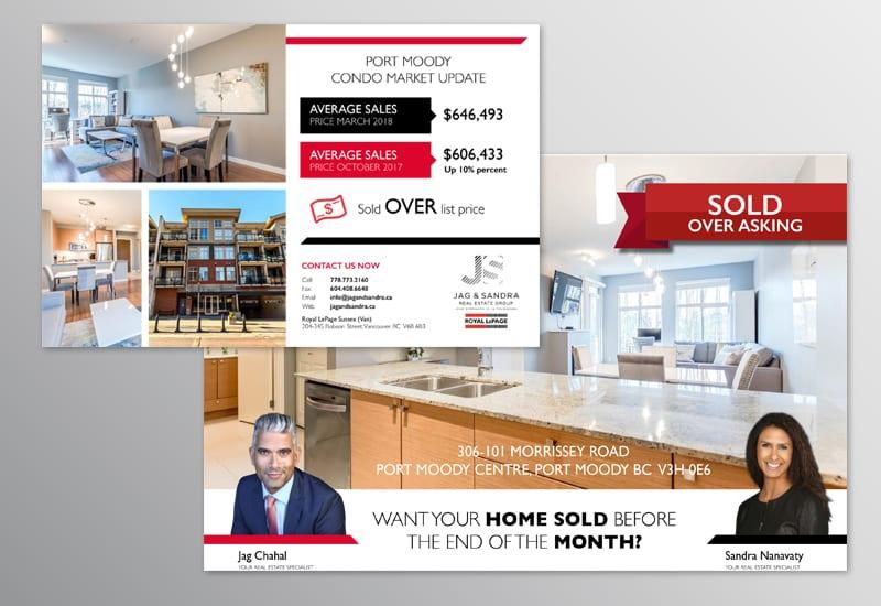 Real Estate Direct Mail Postcard - Limelight Marketing